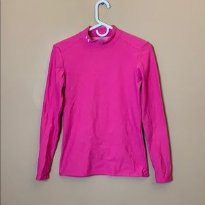 Under Armour pink base layer